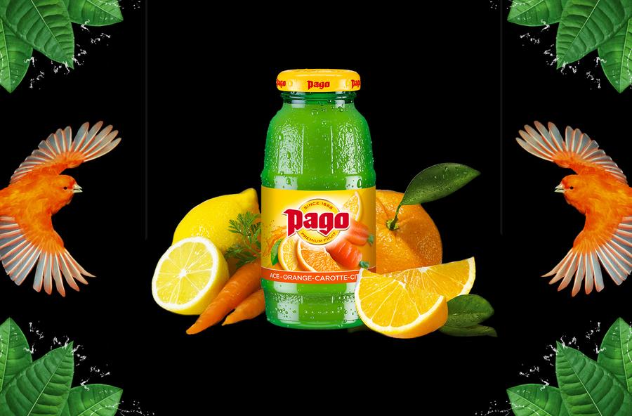 Jus de fruits Pago 25 cl